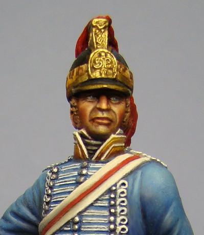 Hawk Miniatures: Lieutenant-Colonel Patrick Maxwell 19th Dragoon Figure 75mm