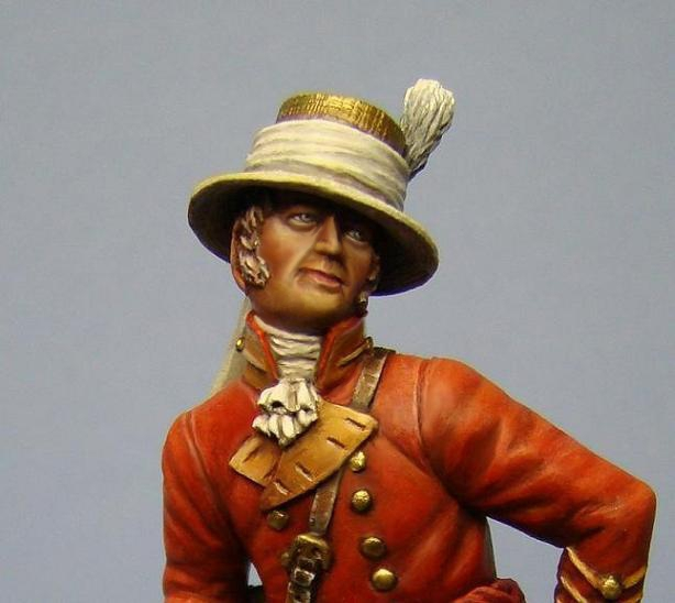 Hawk Miniatures: William Barclay EIC Figure 75mm