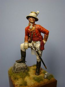 Hawk Miniatures: Captain William Barclay of the East India Company figure